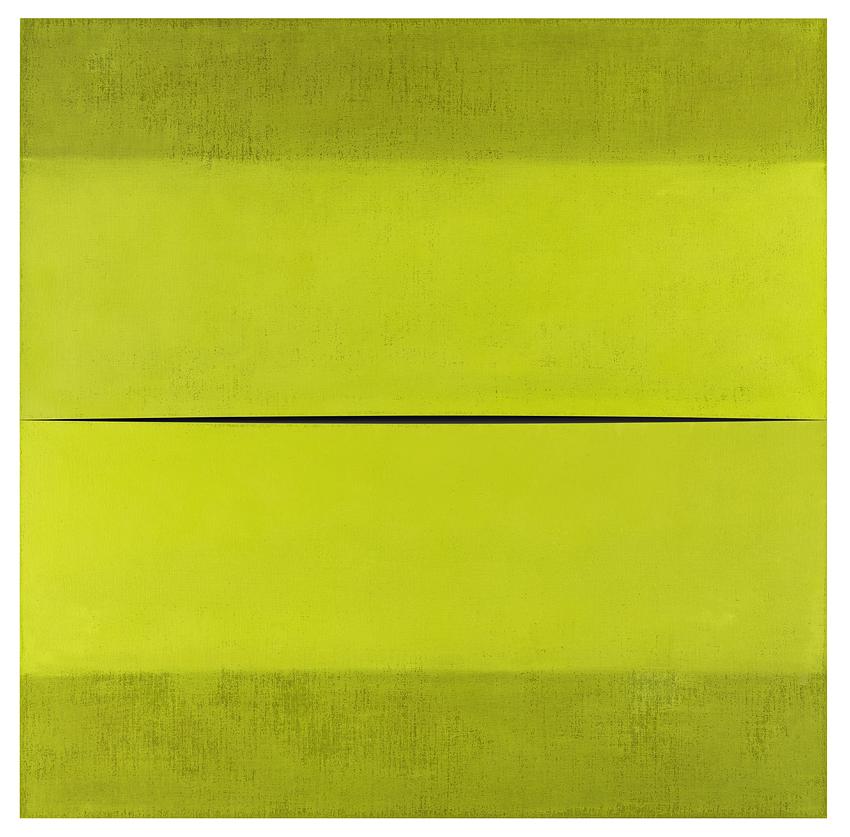 Fanny Gagliardini, Oil on canvas and mirror, 100x100cm, 7'000.- CHF