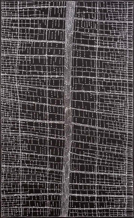 Dorothy NAPANGARDI, Mina Mina, Acrylic on canvas, 122x76cm, 2009, Price on request.