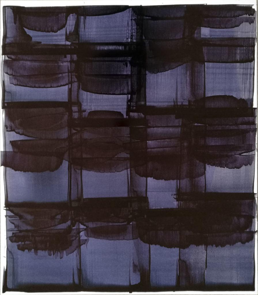 Mireille Fulpius, Encre de Chine sur papier glacé, 80x70cm, CHF 3000.-